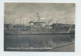 Civitavecchia (Italie, Latium) : La Nuova Motonave Per La Sardegna En 1950 GF. - Italia
