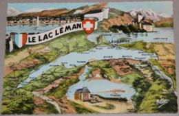 Le Lac LEMAN (Haute-Savoie, Suisse) - France