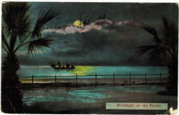 Moonlight On The Pacific 1919 - Postcards
