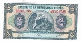 Haiti, 2 Gourdes, 1979, UNC, Free Ship. To USA. - Haiti