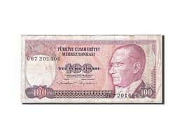 Turquie, 100 Lira, 1984-1997, KM:194a, 1984, TB - Turkije