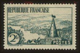 France Scott #299, 1935, Hinged - France
