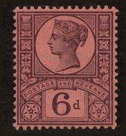 Great Britain Scott #119, 1887, Hinged - 1840-1901 (Viktoria)