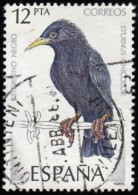 SPAIN - Scott #2460 Sturnus Unicolor / Used Stamp - 1931-Aujourd'hui: II. République - ....Juan Carlos I