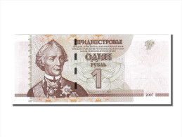 Transnistrie, 1 Rouble Type Suvurov - Billetes