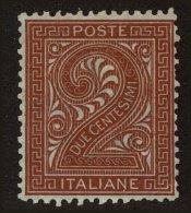 Italy Scott #25, 1865, Hinged - 1861-78 Victor Emmanuel II