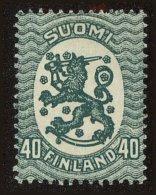 Finland Scott #95a, 1924, Never Hinged - Ungebraucht
