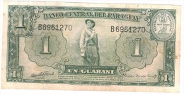 Paraguay 1 Guarani, 1952, XF,    Free Ship. To USA. - Paraguay