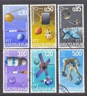 YUGOSLAVIA  870-5    (o)   SPACE - Space