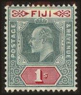 Fiji Scott #75, 1909, Hinged - Fiji (...-1970)