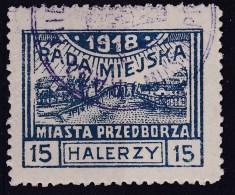 POLAND Przedborz 1918 Fi 13B T.2 Used Signed Petriuk ZL11.5 - ....-1919 Gouvernement Provisoire