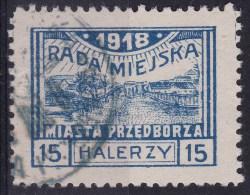 POLAND Przedborz 1918 Fi 13B T.2 Used Signed Petriuk ZL10 - ....-1919 Gouvernement Provisoire