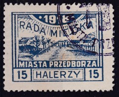 POLAND Przedborz 1918 Fi 13B T.2 Used Signed Petriuk ZL.11.5 - ....-1919 Gouvernement Provisoire