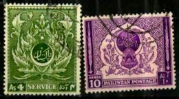 Pakistan Scott N°58.61.oblitérés