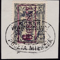 POLAND Warschau Local 1915 Fi 4IIb On Piece - Unclassified