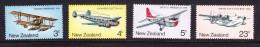 New Zealand 1974 Aviation  Complete Set MNH - New Zealand