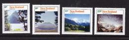New Zealand 1973 Mountain Scenery Complete  Set MNH - New Zealand