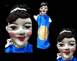 Ancienne  Marionnette Polonaise / Vintage Puppet From Poland - Puppets
