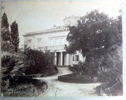 GRECE CORFOU VILLA  MON REPOS PALAIS DU ROI DE GRECE VERS 1890 - Grecia