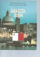 Monaie  Euro   Coffret  Essai Malte  2004 - Port - 4€ - Essais Privés / Non-officiels