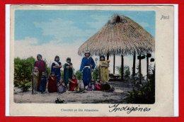 AMERIQUE --  PEROU -- Chunchos En Rio Nicandares - Pérou