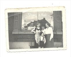 """Photo ( +/- 6 X 9 Cm) JUMET - Café """" Joueur De Balle"""" (b107) - Places"""