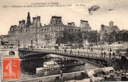 75 Paris L´Aviation A Paris Monoplan En Plein Vol - France