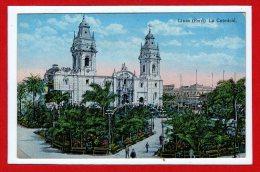 AMERIQUE --  PEROU -- LIMA -- Catedral - Peru