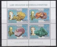 Congo 2006 Les Grands Mineralogistes / Minerals M/s PERFORATED ** Mnh (26944C) - Democratische Republiek Congo (1997 - ...)