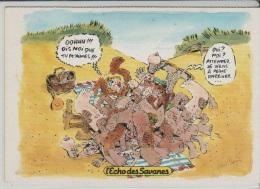 CP - L'Echo Des Savanes - LA PLAGE - Humor