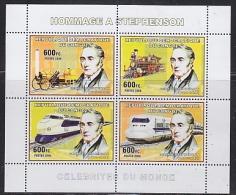 Congo 2006 Stephenson / Railway M/s  PERFORATED ** Mnh (26944M) - Ongebruikt