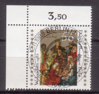 Berlin , 1985 , Mi.Nr. 749 O / Used Eckrand Ersttagsstempel - Berlin (West)