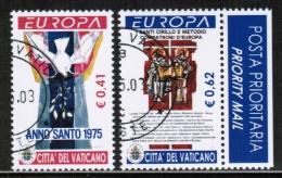CEPT 2003 VA MI 1459-60 USED VATICAN - Europa-CEPT