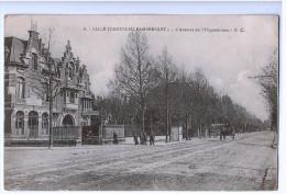 8167  CPA    LILLE  ; CANTELEU - LAMBERSART  : Avenue De L´Hippodrome   1922 - Lille