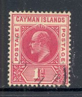 CAYMAN ISLANDS, 1905 1d (wmk CA Multiple) Very Fine Used, Cat £22 - Kaaiman Eilanden