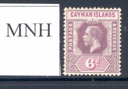 CAYMAN ISLANDS, 1912 6d Mint Never Hinged (MNH) - Kaaiman Eilanden