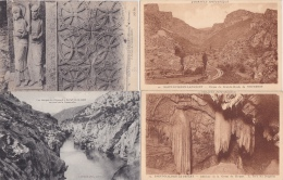 16 / 1 / 282   -     Lot  De  7  CPA  DE  SAINT  GUILHEM  DU  DÉSERT    - ( 34  )  Toutes Scanées - Postcards
