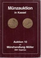 Münzauktion In Kassel - Auktion 0 Der Münzhandlung Möller 3501 Espenau - Allemand