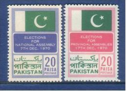 Pakistan 1970  Election..  MNH  2V. - Pakistan