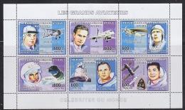 Congo 2006 Les Grands Aviateurs M/s PERFORATED ** Mnh (F4972) - Democratische Republiek Congo (1997 - ...)