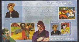 Congo 2006 Paul Gaugin/ Painter M/s PERFORATED ** Mnh (F4975) - Democratische Republiek Congo (1997 - ...)