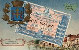 88 - SAINT DIE Chambre De Commerce De St Dié  Billet De Nécessité - Saint Die