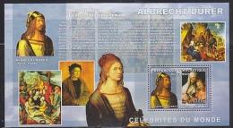 Congo 2006 Albrecht Dürer / Painter M/s PERFORATED ** Mnh (F4976) - Democratische Republiek Congo (1997 - ...)