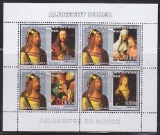 Congo 2006 Albrecht Dürer / Painter M/s PERFORATED ** Mnh (26944) - Dem. Republik Kongo (1997 - ...)