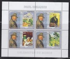 Congo 2006 Paul Cezanne / Painter M/s PERFORATED ** Mnh (26944S) - Democratische Republiek Congo (1997 - ...)