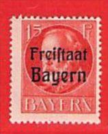 MiNr.156 A Xx Altdeutschland Bayern - Bavière