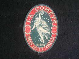 A*P/ France / Beer,label,Etiquette - Brouwerij - Brewery - Brasserie La Comète Chalons S/Marne ( Bière ) - Beer