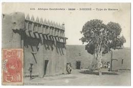AFRIQUE - SOUDAN - DJENNE - (N° 412) - Type De Maison - CPA - Soudan