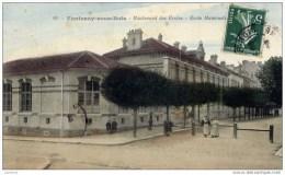 94 FONTENAY-sous-BOIS - Boulevard  Des Ecoles-Ecole Maternelle- Couleur - Fontenay Sous Bois
