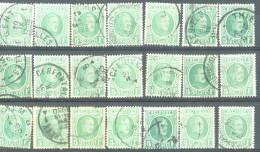 _5Ez-835:  Restje Van 21 Zegels: N° 209 .... Om Verder Uit Te Zoeken... - 1922-1927 Houyoux
